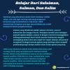 Pelajaran Dari Sulaiman, Salman, Dan Salim